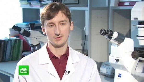 Биолог Алексей Беликов