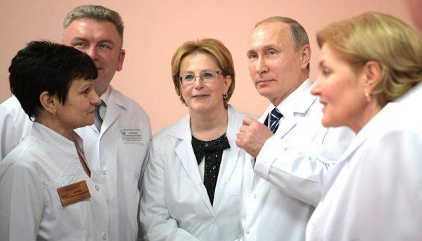 Путин поддержит программу врачей по борьбе с раком