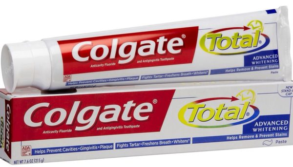 Зубная паста с триклозаном